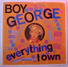"BOY GEORGE (Maxi 45T 12"")  EVERYTHING I OWN"