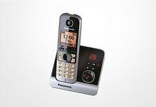 Panasonic KX-TG6721 DECT-Schnurlostelefon mit AB schwarz