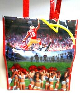 San Francisco 49ers Reusable Tote Bag NFL 2013 Michael Crabtree Patrick Willis