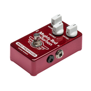 Mad Professor Mighty Red Distortion Hand Wired Hw Effect Pedal