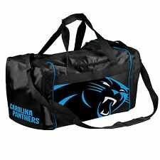 Carolina Panthers Duffle Bag Gym Swimming Carry On Travel Luggage Tote NEW