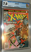 X-men  #103 CGC 7.0 Marvel Comic 1977 white pages