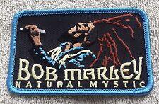 BOB MARLEY PATCH Cloth Badge/Emblem/Insignia Natural Mystic Rasta One Love Bag