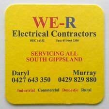 New listing We-R Electrical Contractors Daryl 0427643350 Murray 0429829880 Coaster (B271-57)