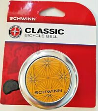 Schwinn Classic Bicycle Bell Universal Fit Silver New