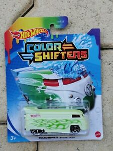 1/64 Hot Wheels  Color Shifters   VW Volkswagen Drag Bus  Combi T1  Neuf blister