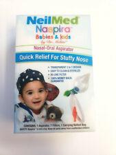 NielMed Naspira Babies & Kids Nasal Oral Aspirator Quick Relief For Stuffy Nose