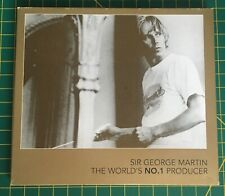 George Martin - The World's No. 1 Producer. Promo Only CD EMI Recs, Beatles