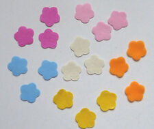 100 Filz-Blumen ca.3 cm - Streu-Deko - Tisch-Deko - Streuteile - Filz-Blüten