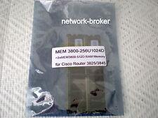 Mem3800-256u1024d = 2x mem3800-512d = 1gb di RAM Memory per Router Cisco 3825 3845