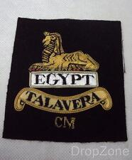 NEW Military Gloucesters Talavera Cloth Wire Blazer Badge / Patch