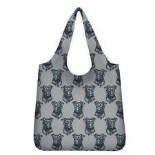 More details for patterdale dog shopping bag reusable foldable washable lovely gift idea