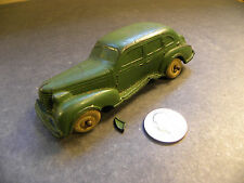 "Auburn Rubber / Oldsmobile Six / Toy Car / 4 3/4"" long / missing two wheels"
