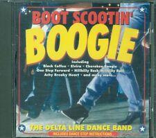 Delta Line Dance Band - Boot Scootin Boogie Cd Eccellente