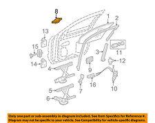 GM OEM-Outside Exterior Door Handle Left 25875521