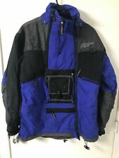 Boulder XTM Gear Ski Jacket Solar Lock Unisex Sz Small Blue Black