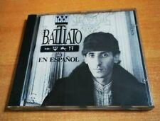 FRANCO BATTIATO En Español CD ALBUM CANTADO EN ESPAÑOL MUY RARO HECHO EN SUIZA