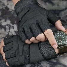Military Tactical Gloves Half Fingerless Cycling Motorcycle Gloves for Men US