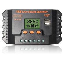 12 / 24V 30A PWM LCD Controllore di carica batteria USB Z4S3 I2Q8