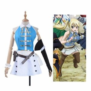 Fairy Tail 3rd Lucy Heartfilia cosplay, brand new, never worn.