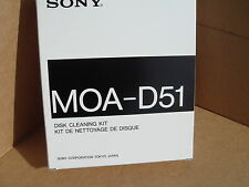 Sony MOA-D51 Disk Clening Kit 5.25 Inch Magnetic-Optical Media Cleaner NEW