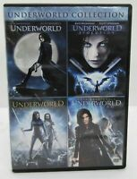 Underworld 4-Movie Collection (DVD Disc Set) FREE SHIPPING.  Pre-owned.