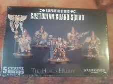 Warhammer 40K Adeptus vigilantes Custodio Guardia Squad-Nuevo y Sellado
