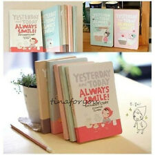 """Always Smile"" Korean Diary Study Planner Pocket Notebook Scheduler Agenda Memo"