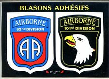 CP 14 Calvados - 82nd & 101st Division Airborne - Blasons adhésifs
