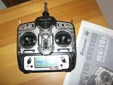 Graupner Sender MX 16 Syn 35 Mhz  mit Akku