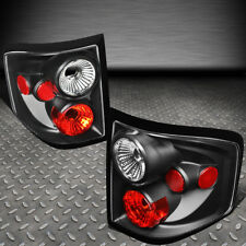 FOR 04-08 FORD F150 FLARESIDE PAIR BLACK HOUSING TAIL LIGHT BRAKEPARKING LAMP