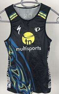 Pearl Izumi Vest Seattle Multisports Jersey Women's Size S Short Zip Cycling Top