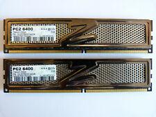 2x 2gb OCZ Titanium Edition ocz2t800c44gk 4gb ddr2 800mhz pc2-6400 PC RAM Kit