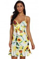 Dress Mini Summer Women Party Short Evening Beach Sleeveless Casual Boho