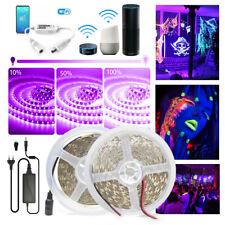 UV Schwarzlicht LED Streifen Leiste Stripe Dimmbar Band Controller Lichtschlauch