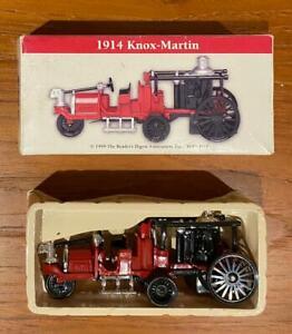 Model Rare 1914 Knox-Martin Pumper Fire Engine