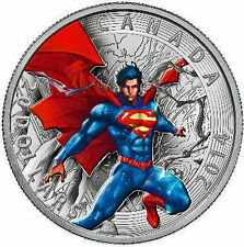 2014 $20 1 oz. Fine Silver Coin -Iconic Superman™ Comic Book Covers Superman