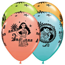 Moana & Maui Latex Balloons Girl Birthday Decoration Party Favor Supplies ~ 25ct