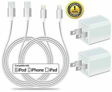 Certified 5W 1A USB Power Wall Charger with 2-Pack 10FT/3M [Heavy Duty] Nylon...