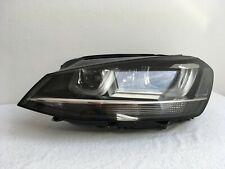 Vw Golf 7 VII Frontscheinwerfer Scheinwerfer Bi Xenon LED links Original