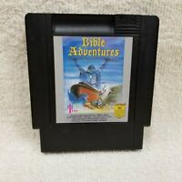 Bible Adventures Nintendo Entertainment System NES Cleaned Tested Working