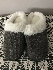 Isotoner Faux Fur Slippers Women's NWOT