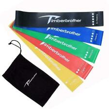 Timberbrother Resistance Loop Bands - 5 Pieces, Multicolor