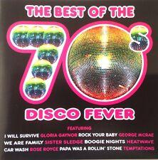 THE BEST OF THE 70S DISCO FEVER - 1 X CD SOUL FUNK DISCO - CDJ CD MOBILE DJ