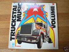 LP RECORD VINYL COVER MACK TRUCK, TRUCKSTAR MUSIC VOLUME 1  DOLLAR,PRICE,OLSON B