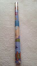 BARNEY Purple Dinosaur Travels RARE Party Birthday Gift Wrap Roll 20 sq ft  NEW