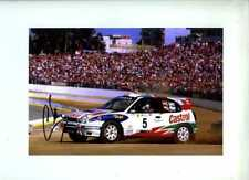 Carlos Sainz Toyota Corolla WRC Portugal Rally 1998 Signed Photograph