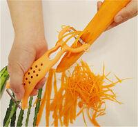 Kitchen Gadgets Apple Carrot Vegetable Fruit Peeler Parer Julienne Cutter Slicer