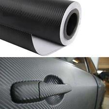 3D Carbon Auto Folie Matt Car Wrapping Wasserdicht Schwarz Decal 127 x 40cm Deco