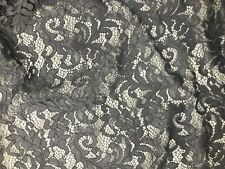 CORDED LACE FABRIC DRESS Material Bridal Clothing 150cm Weddings Bridesmaids